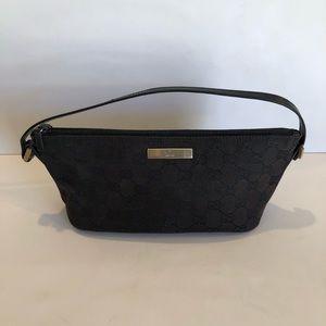 Vintage 90s Gucci Monogram Shoulder Mini Bag